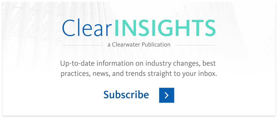Subscribe to Clear Insights